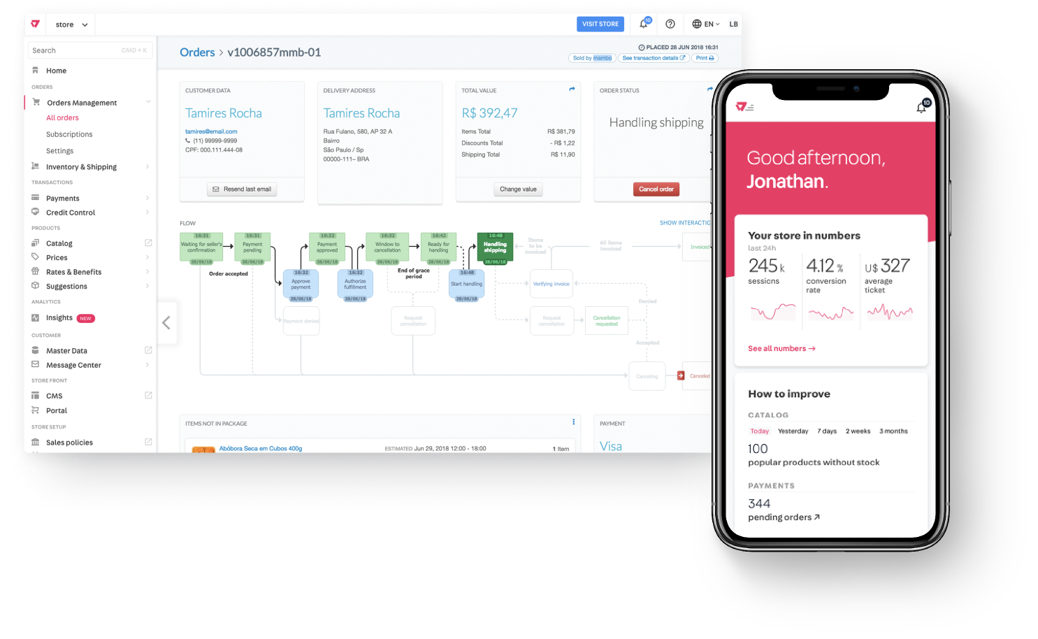VTEX - Accelerate Commerce Transformation